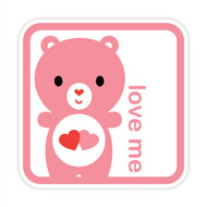 Yummi Bear Love-a-Lot Love Me Badge