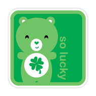 Yummi Bear Lucky So Lucky Badge Green