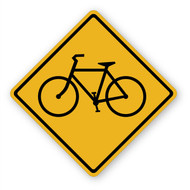 Bicycle Sign Wall Graphic