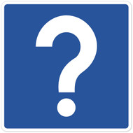 Question Mark Wall Graphic