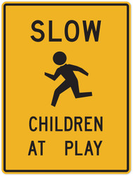 Slow Children At Play Wall Graphic