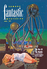 Famous Fantastic Mysteries Tentacled Robots