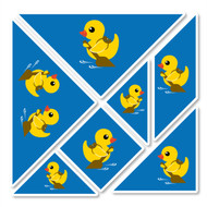 Paddle Duck Wall Tangrams from PaddleDuck Learning
