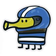 Doodle Jump Blue Racer