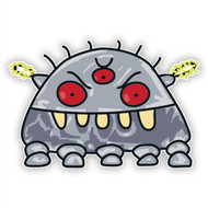 Space Monster Robot (Electric Bolts)