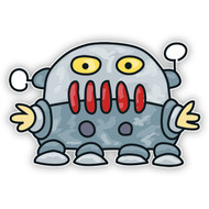 Space Monster Gray Robot (Four Legs)