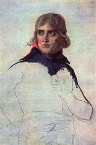 NaPortrait Of General Napoleon Bonaparte by David