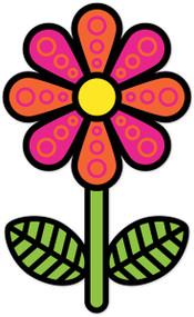 Hippie Weekend Flower Pink Orange