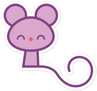 Kawaii Animals Pink Mouse
