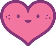 Kawaii Nature Heart Freckles