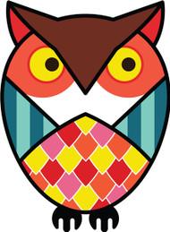 Owls Brown Horned