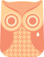 Owls Orange Crying