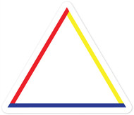 Equilateral Triangle Wall Graphic