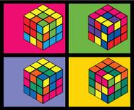 Rubik's Cube: Pop Art Cubes I