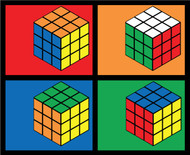 Rubik's Cube: Pop Art Cubes