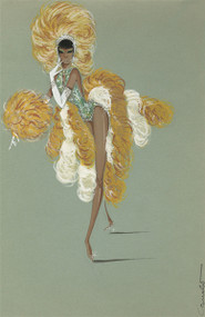 Showgirl Costume Design by Colabucci (Jade)
