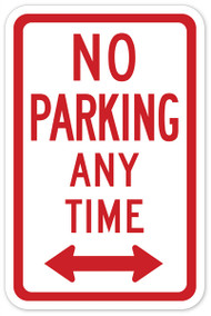 No Parking At Any Time Wall Graphic