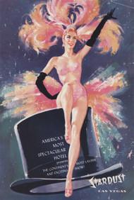 Program Cover from Lido de Paris show C'est Magnifique - Stardust Hotel - 1958