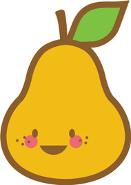 Kawaii Nature Pear