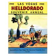 Las Vegas Helldorado Days Souvenir Program Cover - 1945
