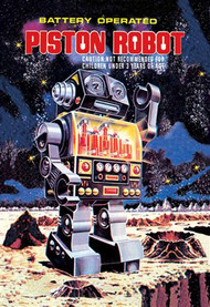 Battery Operated Piston Robot