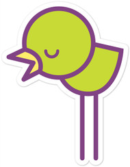 Kawaii Animals Green Chick