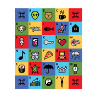 Alphabet Wall Graphic