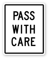 Pass With Care Wall Graphic