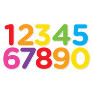 Numbers Set I (Mixed Colors)