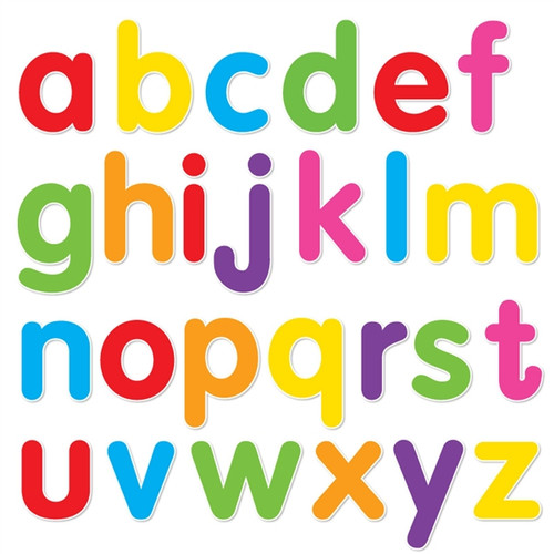 Single Line Letter Art : Alphabet set ii lowercase mixed colors walls