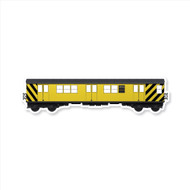 All City Style Premium Blank Classic Train Wall Graphics: Work Train