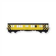 All City Style Premium Blank Classic Train Wall Graphics: Work Train