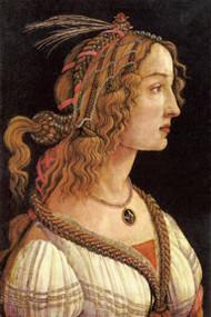Portrait of a Lady (Simonetta Vespucci) by Botticelli