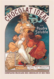 Chocolat Ideal by Alphonse Mucha (1897)