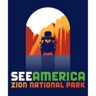 Zion National Park by Luis Prado
