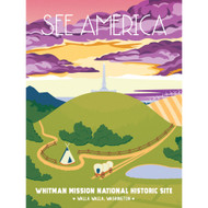 Whitman Mission National Historic Site by Jillian Vaughan