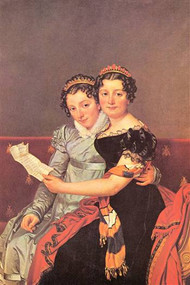 Portrait Daughters of Joseph Bonaparte by David