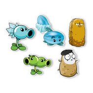 Plants vs. Zombies 2 Wall Decals: Special Wild West Plant Set II (Five Plants 6 inches tall)