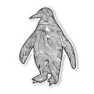Begsonland Penguin Doodle Decal