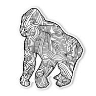 Begsonland GorillaDoodle Decal