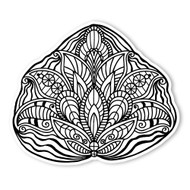 Begsonland Leaf Jewel Doodle Decal