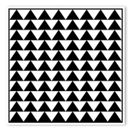 Begsonland Triangle Rows Doodle Decal