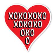 Heart XOXOXO