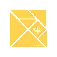 CrayoIa Wall Tangram: I AM Sun Glow