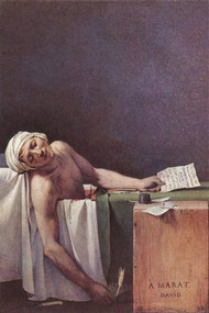 The Murdered Marat by David