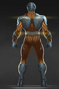 X-O Manowar Back