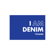 Crayola Colors Wall Graphic: I AM Denim