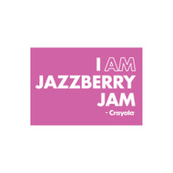 Crayola Colors Wall Graphic: I AM Jazzberry Jam