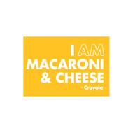 Crayola Colors Wall Graphic: I AM Macaroni & Cheese