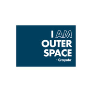 Crayola Colors Wall Graphic: I AM Outer Space